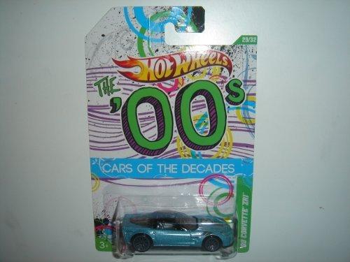 2012 Hot Wheels 00s Cars of the Decades '09 Corvette ZR1 Ice Blue/Black (W4000 Series)