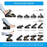 Adjustable Footrest with Removable Soft Foot Rest
