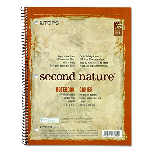 tops-74110-second-nature-subject-wirebound-notebook-11-x-8-1-2-white-50-sheets