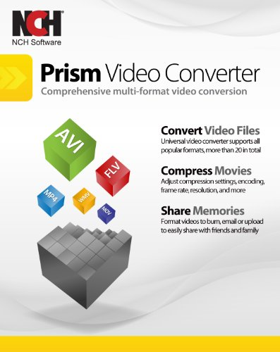 Prism Video Converter Software - Convert Between AVI MP4 MOV and Other Formats [Download] by NCH Software