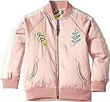 Stella McCartney Kids Baby Girl's Reversible Palm Leaf Jacket (Toddler/Little Kids/Big Kids) Pink 4T