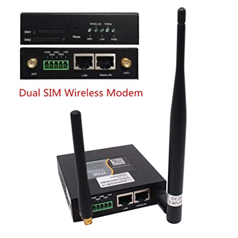 Amazon.com: Industrial 4G LTE WiFi Router Dual SIM 3G/4G ...