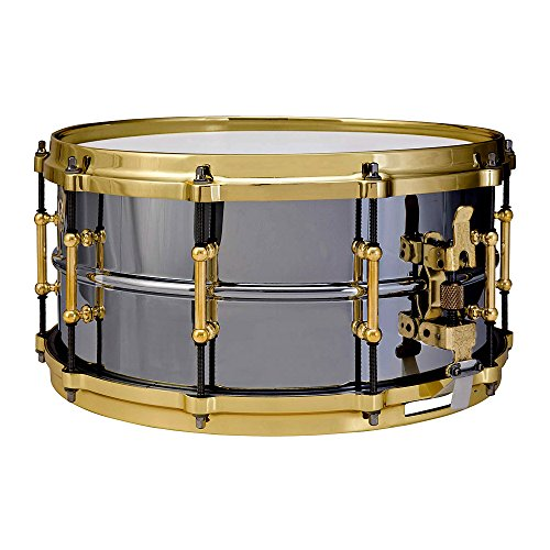Beauty Ludwig Snare Black - Ludwig LB417BT Black Beauty Brass on Brass 6.5 x 14 Inches Snare Drum