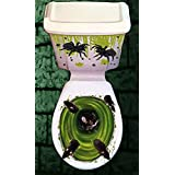 Halloween Horror Toilet Decoration Cover (Rats)