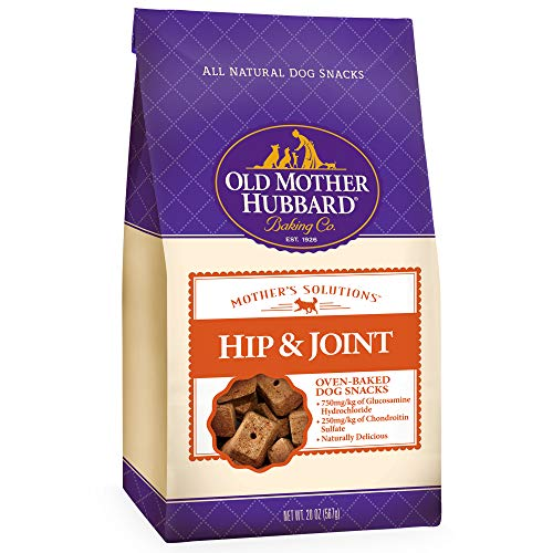 Joint Rescue Chewable - Old Mother Hubbard Mother'S Solutions Hip & Joint Crunchy Natural Dog Treats, 20-Ounce Bag