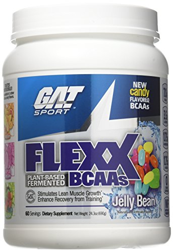 GAT Flexx Bcaa Plant-Based Fermented Jelly Bean Energy and Recovery, 690 Gram