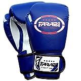 Kids boxing gloves, junior mitts, junior mma kickboxing Sparring gloves 4Oz blue