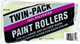 New Factory Case of (72) Linzer Rc133 3/8'' X 9'' Smooth Paint Roller Cover Naps