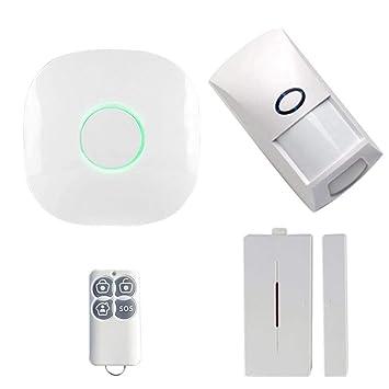 Nrpfell Inalámbrico 433 GSM SMS WiFi Voz Inteligente Casa ...