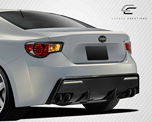 Carbon Creations Replacement for 2013-2019 Scion FR-S Toyota 86 Subaru BRZ 86-R Rear Bumper Cover - 1 Piece