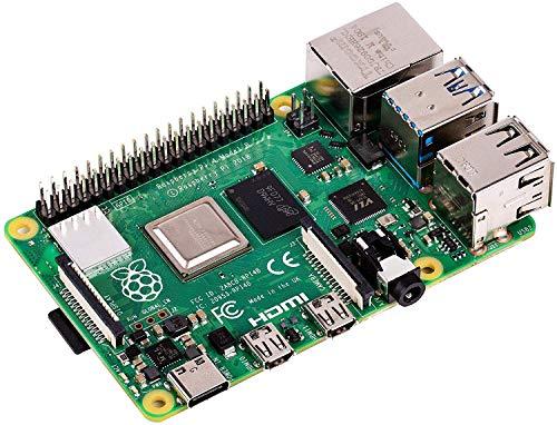 Raspberry Pi 4 with USB-C & Micro HDMI Adapters and Vilros Quickstart Guide E-Book (4GB)