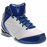 AND 1 Men's Master 2 Mid White/Royal/Black Basketball Shoe - 7.5 D(M) US