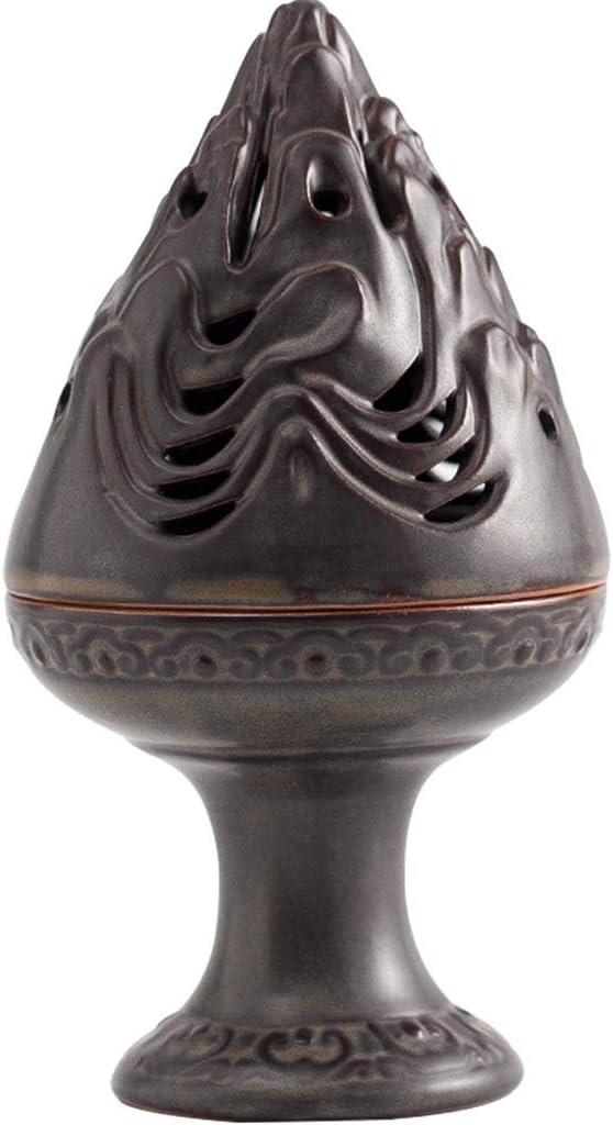 芳香器・アロマバーナー セラミック香炉アンティーク食器香炉ホームデコレーションクリエイティブホームインテリアレトロサンダルウッド香炉 アロマバーナー芳香器