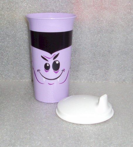 Tupperware Big Bell Tumbler Sipper Seals Sippy Cup Halloween Dracula ()