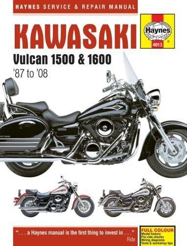 Vulcan Collection - Kawasaki Vulcan 1500/1600, '87-'08 (Haynes Powersport)