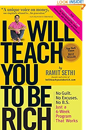 Ramit Sethi (Author) (1033)  Buy new: $6.44