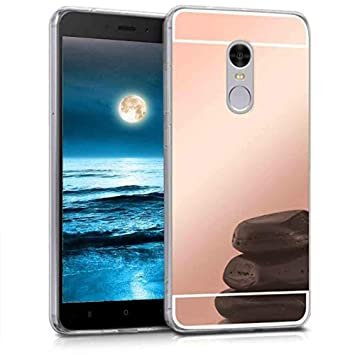 XCYYOO Funda Espejo para Xiaomi Redmi Note 4, Protectora Movil Carcasa TPU Silicona Ultra-Fina Bumper Mirror Case, Goma Cubierta Cobertura Delgado ...