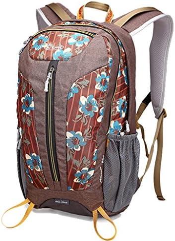 アウトドアリュックサック多機能な登山バッグ男性と女性のスポーツハイキングアウトドア旅行袋25L旅行ショルダーバッグ ( 色 : Flower lake blue )