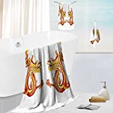 toddler bath towel set Identical Twin s on Symmetric Axis Religious Mythic Featured Heritage Ultra Softness & Absorbency 13.8''x13.8''-11.8''x27.6''-27.6''x55.2''