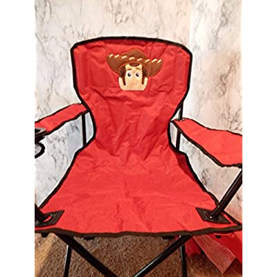 Personalized Toy Sheriff Folding Chair (CHILD SIZE): Handmade