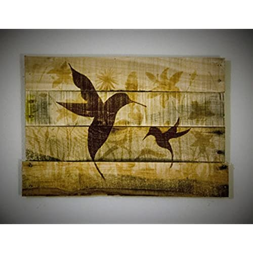 Wood Pallet Wall Paintings: Amazon.com