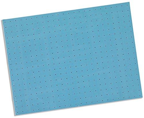 Rolyan Splinting Material Sheet, Synergy, Blue, 1/8