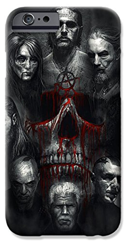 Pixels Iphone 6 Case Featuring  Sons Of Anarchy Tribute  By Alex Ruiz