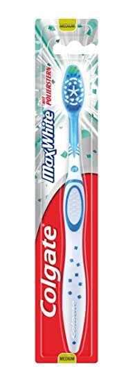 Cepillo colgate - Max white medio, 6 Unidades: Amazon.es: Salud y cuidado personal