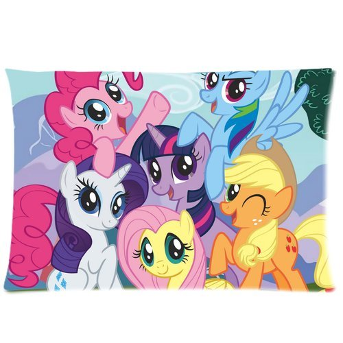 Brand New My Little Pony Rectangle Pillow Cases 20x30 (one side) Comfortable For Lovers And Friends