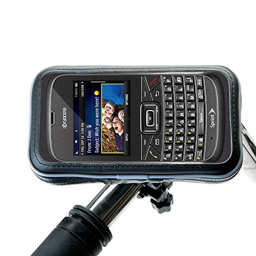 Weatherproof Handlebar Holder compatible with the Kyocera S3015