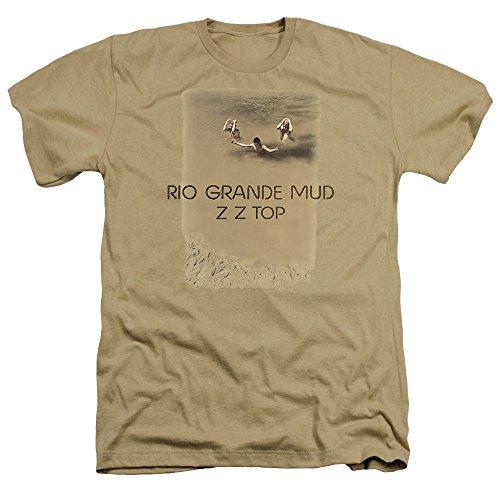 ZZ Top Rio Grande Mud Album Unisex Adult Heather T Shirt for Men and Women