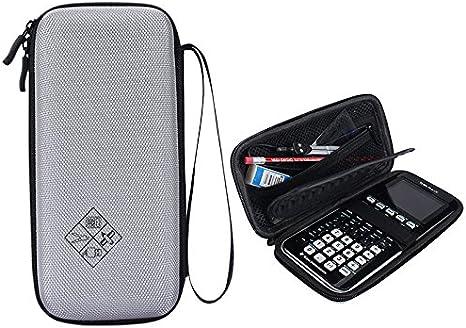 /EVA Calcolatrice grafica per Texas Instruments TI-84//Plus custodia protettiva bagagli/ CE duro blu nero grigio rosa Small Evelina