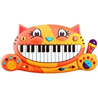 B. Toys BX1025C1Z Meowsic Keyboard Cat Piano with Microphone Toy, Multicolor