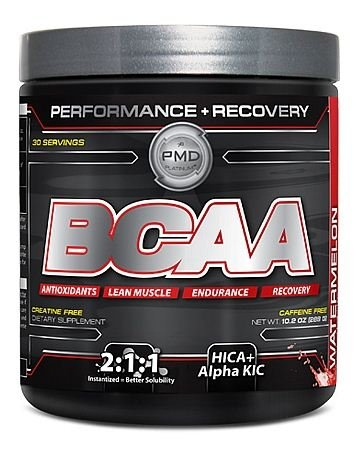 NDS Nutrition - PMD Platinum BCAA Performance + Recovery Caffeine Free Watermelon - 9.2 oz.