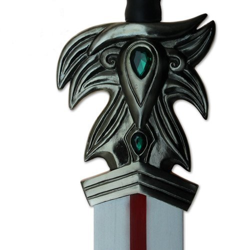 Game Legends Sword Replica League Collectors of All-Metal Real Stainless Steel & Laser Etched Blade by Swordsaxe