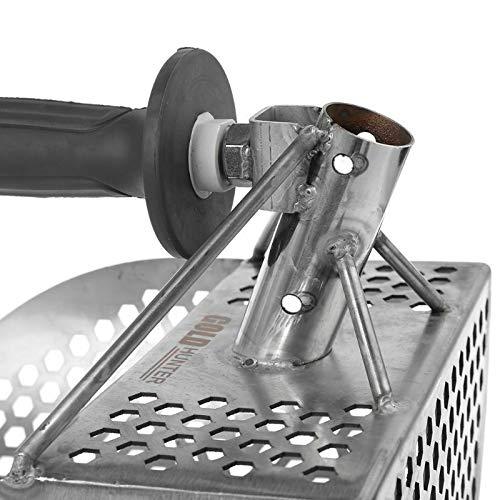 Caja de Arena Conchas LYXMY Pala de Arena submarina tamiz de Limpieza para Playa Surf 10 cm de Metal para detecci/ón y b/úsqueda del Tesoro