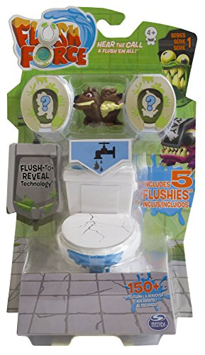 Flush Force Pack com 5 Figuras Sunny