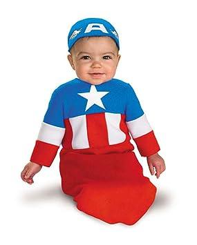 Capitán América traje de bebé: Amazon.es: Juguetes y juegos