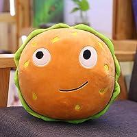 Cartoon Hamburger Pizza Ice Cream Hot Dog Chips Milk Tea Popcorn Biscuits Stuffed Kids Plush Toys Soft Pillow Cushion…