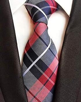 LFLJIE Nuevos Corbatas de 8 cm para Hombre Corbata de Flores a ...