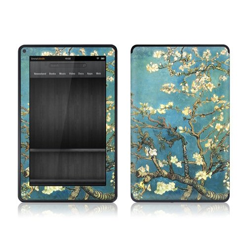 GelaSkins Protective Film for Amazon Kindle Fire - Almond Branches [Electronics]
