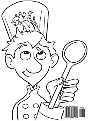 Ratatouille Coloring Book Coloring Book For Kids And Adults Activity Book With Fun Easy And Relaxing Coloring Pages Ivazewa Alexa Amazon Ae