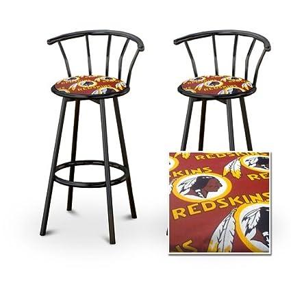 Super Amazon Com 2 Washington Red Skins Nfl Football Themed Ncnpc Chair Design For Home Ncnpcorg