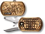 US Army Warrior Ethos Dog Tag Pocket Knife Review