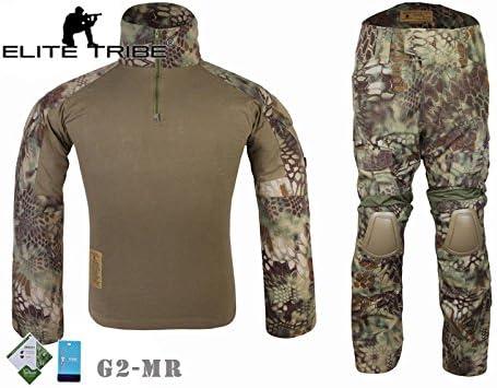 Tuta militare tattica per caccia, con maglia e pantaloni da