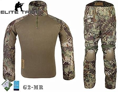 Airsoft caza táctico combate militar de trajes G2 uniforme camiseta pantalones Mandrake: Amazon.es: Deportes y aire libre