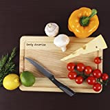 Wood Cutting Board (11.8x7.9 inch) with Juice Drip Groove – Oak Chopping Board – Sturdier than Glass & Plastic Cutting Board and more Durable than Bamboo Cutting Board