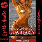 My Caribbean Beach Party: Hot Gangbang Sex with Male Strippers | Kaylee Jones