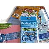 Cleaning Cloths, Sponge Cloths, Microfiber Wipe, linge pour acier inoxdable