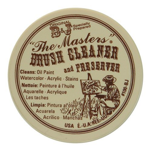 The Masters Brush Cleaner and Preserver 1.0oz Size by The Masters Brush Cleaner